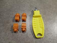Lots de Clips 25 rouges + 25 jaunes playmobil ref 1