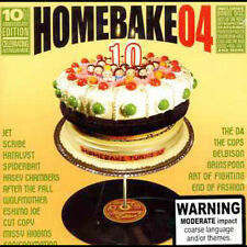 Homebake 04: The 10th Anniversary by Various Artists (CD, Dec-2004, Capitol)