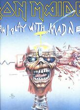 IRON MAIDEN can i play with madness GERMAN 1988 12INCH 45 RPM EX