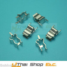 50 x Fuse Clip Holder for 6mm with end stop and PCB lug