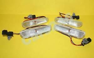 VOLVO S40 V40 98-00 Side Marker Turn Lights CLEAR SET