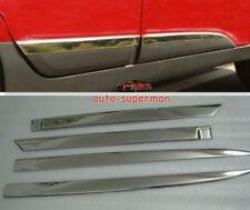 S/Steel body Side door Molding sill Chrome trims For Hyundai TUCSON ix35 2010+