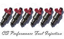 OEM Siemens Fuel Injectors Set (6) 4663376 for 94-97 Chrysler Dodge Eagle 3.3 V6
