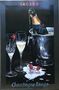 Michael Godard Champagne Tango Poster 24 X 36