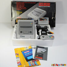 Super Nintendo Starwing Boxed Console Bundle - CONSOLE IS VGC - SNES PAL