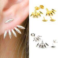 Silver/Gold Plated Ear Jacket Spike Claw Earring Punk Ear Stud Clip Jewelry new
