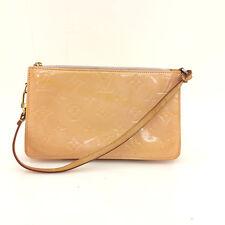 AUTH Vintage Louis Vuitton Vernis Leather Lexington Pouch Hand Bag M91058