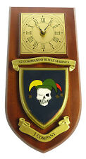 42 COMMANDO ROYAL MARINES J COMPANY CLASSIC HAND MADE TO ORDER  WALL CLOCK