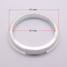 4pcs High Quality Aluminum Alloy Wheel Spacer Hub Centric Rings 67.1OD to 57.1ID