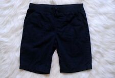 Girls Navy Blue Bermuda Length School Uniform Shorts ~ Size 10-12 Faded Glory