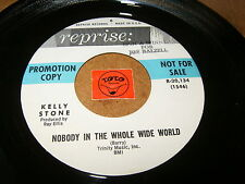 KELLY STONE - NOBODY IN THE WHOLE WIDE WORLD - TRYING   / LISTEN - SOUL POPCORN