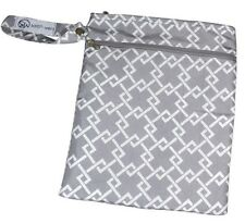 """Sarah Wells """"Pumparoo"""" Wet/Dry Bag (Gray) (Authentic from Manufacturer)"""