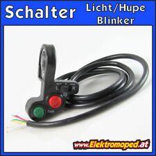 Ersatzteil Elektro-Scooter Schalter Diagonal Licht-Hupe-Blinker eScooter eBike