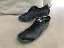 Mens ASICS Black / Grey Onitsuka Tiger Mexico Shoes Sneakers US 11 [MS3]