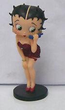 Betty Boop 'Call Me' Mini Figura In Resina 9016) Altezza 7.6cm