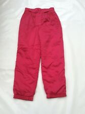 Vintage 80's Ladies Pink Rodeo Ski Trousers Sz UK 14 #19 Ideal Fancy Dress