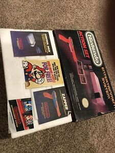 Original Nintendo NES Box, Booklets & Styrofoam *Only*  /  No Console Included
