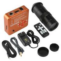 KOPPACE 21MP HDMI Industrial Video Microscope Camera 100X Digital Zoom Lens US