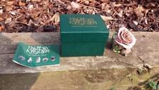 1997 Harmony Kingdom Single Violet Rose Box Figurine Ltd Edition w /Box HGLEVR