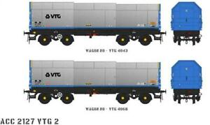 Accurascale ACC2127-VTG-2 2X JSO50A JSA Steel Coil Wagons