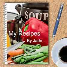 A5 PERSONALISED RECIPE PLANNER, WRITE YOUR OWN RECIPES,HEALTHY RECIPE BOOK,05