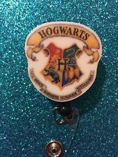 Hogwarts Retractable Badge Reel Holder
