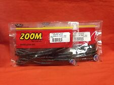 """ZOOM 7"""" Magnum Trick Worm (8cnt) #115-281 Watermelon Candy Red (2 PCKS)"""