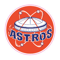 Houston Astros Vintage Logo 1965-1976 Sticker Vinyl Vehicle Laptop Decal