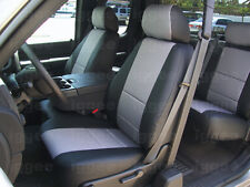 CHEVY AVALANCHE 2007-2012 IGGEE S.LEATHER CUSTOM SEAT COVER 13 COLORS AVAILABLE