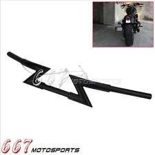 """Drag Strip Handlebar Z Bars 25mm 1"""" For Harely Sportster 1200 883 Dyna XL Honda"""