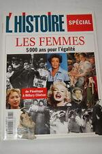 L'HISTOIRE N°245 LES FEMMES EGALITE