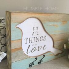 Rectangle Freestanding Decorative Hanging Signs