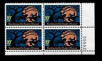 US 1974 Sc #1548 10 c Legend of Sleepy Hollow Mint NH Plate Block of 4