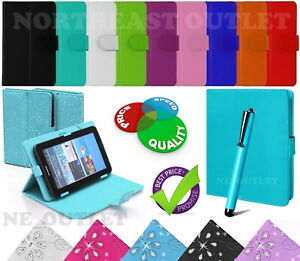 """Universal Flip Case Fits LENOVO Tab M10 HD 10.1"""" Inch Tablet with Free Stylus"""