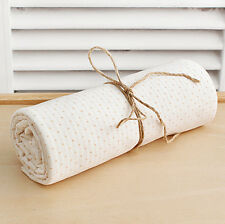 "Both Organic Cotton Knit Single Fabric by the Yard 59"" Wide MR Stripe & Dot"