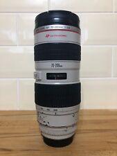 Canon EF 70-200mm F/2.8 L EF USM Lens, used but solid