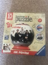 Ravensburger One Direction The Group 3D Globe Puzzle - 72 Pieces + Base