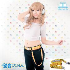 Omakase Vocaloid Kagamine Rin Len Cosplay Belt & Loop Cute Anime Hatsune Miku