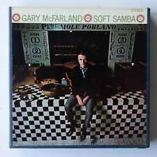 "Gary McFarland  Soft Samba  7"" 4 Track 3 3/4 ips Reel Tape Verve VSTX 350 TESTED"