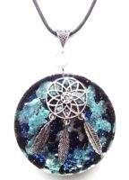 Orgone Orgonite pendant Dream catcher,EMF protection.Positive energy.Handmade