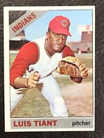 1966 Topps Luis Tiant #285 Cleveland Indians