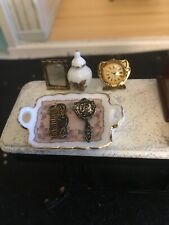 reutter porzellan Dollhouse Dressing Table Display And Jewelry Box