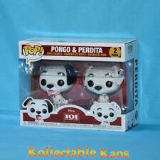 101 Dalmatians - Pongo & Perdita Pop! Vinyl Figure 2-Pack (RS)