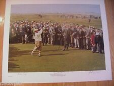 Bobby Jones Grand Slam 1930 Print-Jones at St. Andrews in Scotland