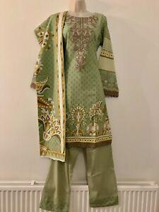 Pakistani Party Wear Shalwar Salwar Kameez Readymade Indian Suit 3 Piece 2021