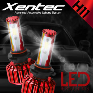XENTEC LED HID Headlight Conversion kit H11 6000K for 2006-2008 Audi A3 Quattro