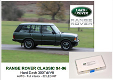 RANGE ROVER CLASSIC AUTO Soft Dash Full interior 62 LED KIT