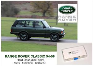 RANGE ROVER CLASSIC AUTO Soft Dash Full interior 62 LED KIT