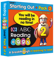 ABC Reading Eggs - Starting Out Pack 2