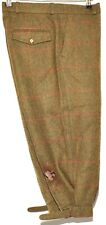"""HUCKLECOTE CHECK TWEED BREEKS PLUS FOUR FULLY LINED 32"""" W"""